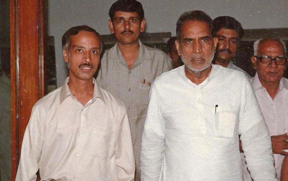 With Ex. Prime Minister of India, Sh. Chandrashekhar