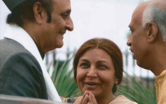 With Dr. karan Singh